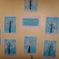 Выставка рисунков «Деревья в снегу»