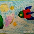 Творческие работы детей «Этот удивительный мир космоса»