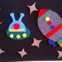Игровые макеты «Космос» для детского сада своими руками из ковролина