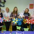 Звезда оригами. Мастер класс для родителей