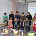 Кружковая деятельность совместно с родителями «Снежинка в технике оригами». Открытое занятие.