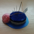 Мастер-класс по изготовлению шляпки— игольницы для любимой мамочки