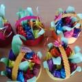 Корзинка с цветами для любимой мамочки