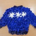 Мастер-класс по изготовлению подарка к 23 февраля «Тёплый свитер для любимого папочки»