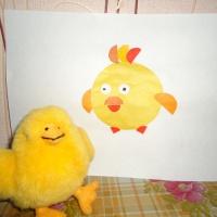 Детский мастер-класс по аппликации «Цыпленок Цыпа»