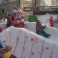 Оформление детского сада. Зимние постройки