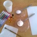 Мастер-класс «Живые краски»