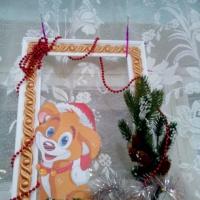 Мастер-класс с использованием подручных материалов «Новогодняя фоторамка»