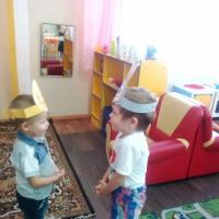 Фотоотчет «Играем в сказку»