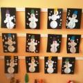 НОД в средней группе. Аппликация с элементами рисования «Нарядные снеговики»
