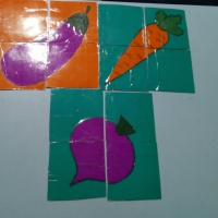 Дидактическая игра «Собери картинку» для детей 2–3 лет