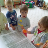 Нетрадиционная техника рисования ладошками и пальчиками. Конспект занятия во второй младшей группе «Осень»