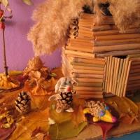 Фотоотчёт о конкурсе поделок из природного материала «Осенняя фантазия»