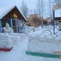 Участие в конкурсах ландшафтного дизайна «Гео-декор» и «Зимняя планета детства»