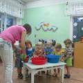 Конспект занятия в группе раннего возраста «Водичка-водичка»