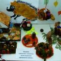 Выставка совместного творчества из природного материала «Превращение шишки»