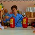 Фотоотчёт «Малышам о пожарной безопасности»