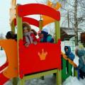 Фотоотчёт «Весёлая зимушка-зима»