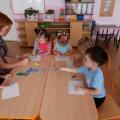 Коллективная работа с детьми второй группы раннего возраста