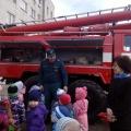 Экскурсия в пожарную часть. Фотоотчёт