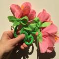 Мастер-класс «Цветы Весны из тонкого фетра». В подарок или для украшения интерьера, зала или группы к празднику