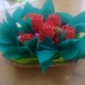 Мастер-класс «Корзинка с цветами»