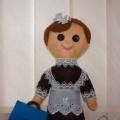 Визитная карточка дидактического пособия «Машенька— кукла-школьница»