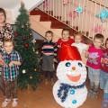 Новогоднее оформление в детском саду