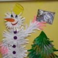 Мастер-класс «Веселый Снеговик»