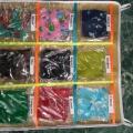 Коллекция тканей. Пособие по тактильному развитию детей