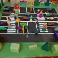 Коллективная работа по лепке на тему «Дорога в детский сад».