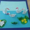 Мастер-класс «Лесное озеро» (оригами)