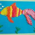 Детский мастер-класс по пластилинографии «Золотая рыбка»