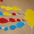 Мастер-класс «Разноцветные тучки»