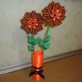 Мастер класс «Цветы ко Дню победы»