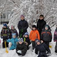 Фотоотчет «Зимние игры и забавы в старшей группе»