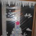 Фотоотчёт «В окошке нашем Новый год Снежинки водят хоровод»