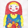 Рисование «Матрешка»