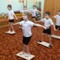 Комплекс ОРУ с использованием балансира для детей подготовительной к школе группы «Мы— пираты»