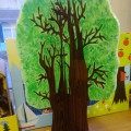 «Чудесное дерево. Времена года». Мастер-класс