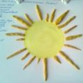 Лепка из пластилина «Весеннее солнышко»