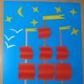 Мастер-класс по изготовлению подарка папе к 23 февраля «Алые паруса»