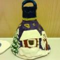 Сувенир из солёного теста «Колокол Рождества»