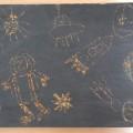 Конспект НОД по рисованию в технике «граттаж» в старшей группе «Космический пейзаж»