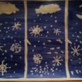Рисование «Снежинки за окном»