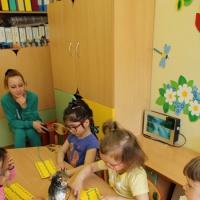 Конспект занятия в группе компенсирующей направленности для детей 3–4 лет, имеющих нарушения зрительных функций