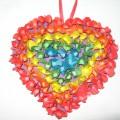 Мастер-класс по изготовлению валентинки «Радужное сердце»