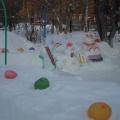 Оформление участка зимой своими руками фото 75