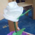 Мастер-класс «Белая роза»