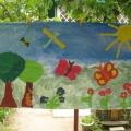 Коллективная работа в технике мозаики «Лето, лето к нам пришло!»